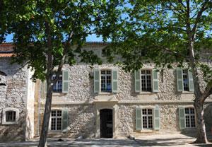 Projection à Morières lès Avignon