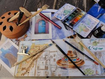 Atelier carnet de voyage