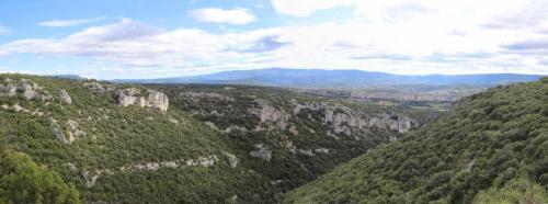 Panorama depuis le Castellas